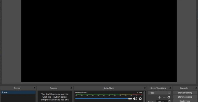 OBS Studio: condividere lo schermo con gli spettatori di tutto il mondo